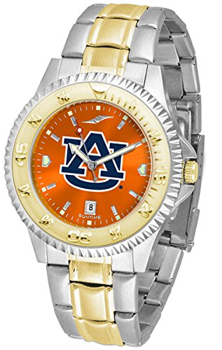 (Auburn Tigers Competitor Two-Tone AnoChrome Men's Watch)