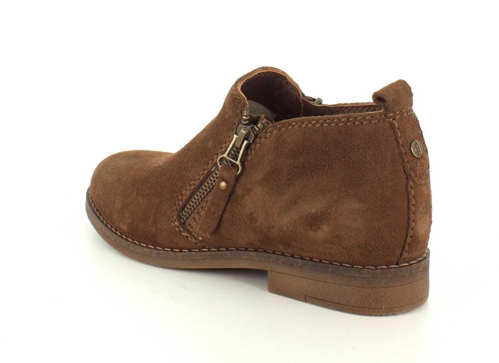 Hush Puppies Women's Mazin Cayto Ankle Bootie Suede B005BFELE0 6.5 B(M) US|Brown Suede Bootie b55175