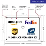 Package Delivery Sign, Delivery Instructions for