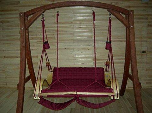 WYJ Sofa chair. Outdoor swing. Freizeit Luxus Hawaii Swing. Sicherheit