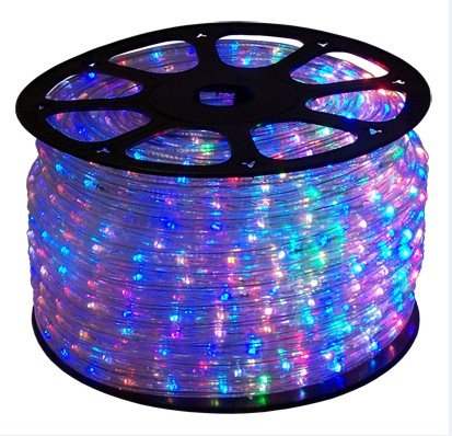 Amazon 18 ft rgb color changing 4 wire 110v 120v led rope light 18 ft rgb color changing 4 wire 110v 120v led rope light christmas mozeypictures Images