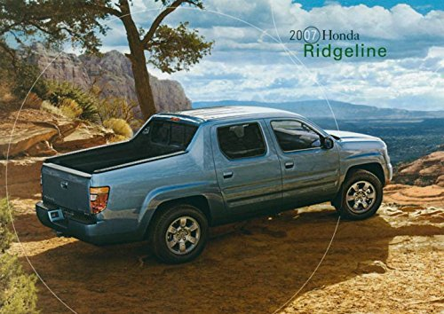 2007 Honda Ridgeline Pickup Truck ORIGINAL Factory Postcard