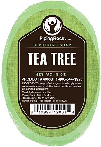 Essential Oils Scented Bar Soap (Tea Tree Oil Glycerine Soap 5 oz)