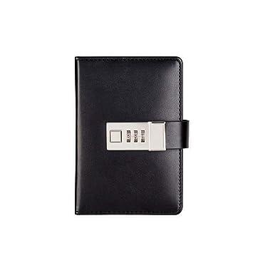 FS Cuaderno Que Puede Llevar con Usted, Agenda con Candado ...