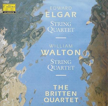 Elgar: String Quartet In E Minor, Op. 83 / Walton: String Quartet In A Minor