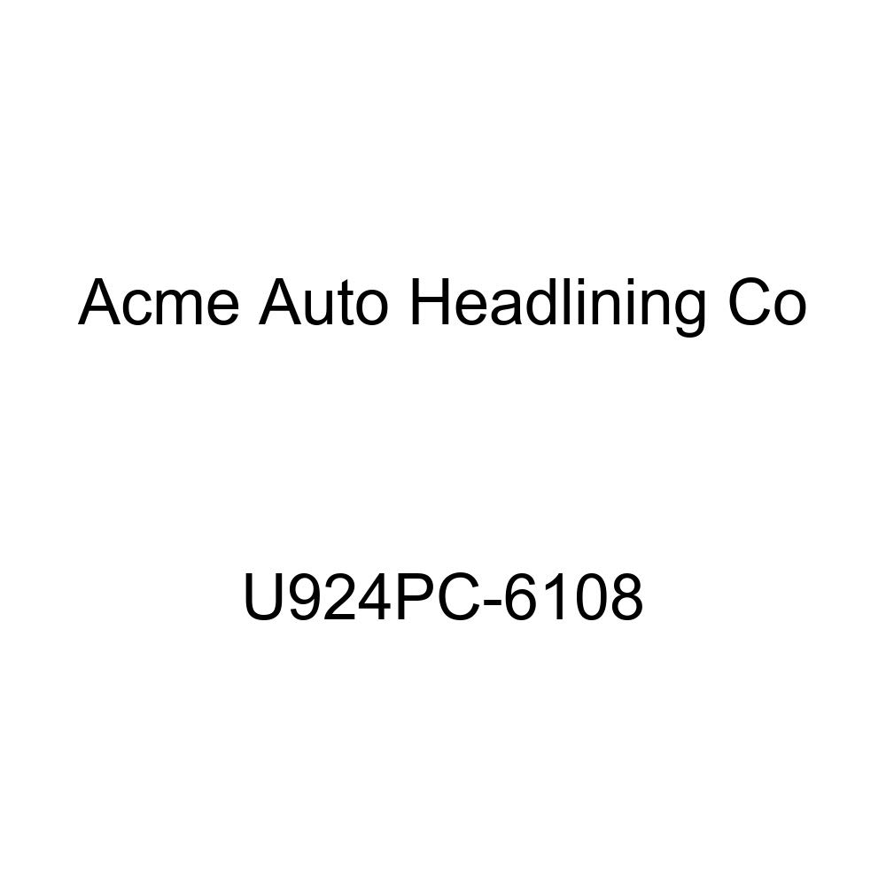 Acme U924PC-6108 Front and Rear Sand Beige Vinyl Bench Seat Upholstery