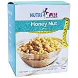 NutriWise - High Protein Diet Cereal | Honey Nut | Low Calorie, Low Fat, Low Sugar (5/Box)