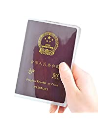 Changeshopping Clear Transparent Passport Cover management ID Card Travel Protector