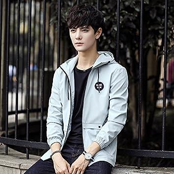 Men S Jacket Men S Korean Men S Fashion Casual Casual Hooded Jacket