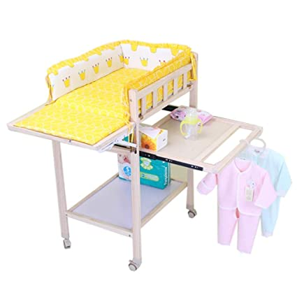 Wondrous Nursery Mobile Baby Changing Table With Wheels Wood Bathtub Interior Design Ideas Tzicisoteloinfo
