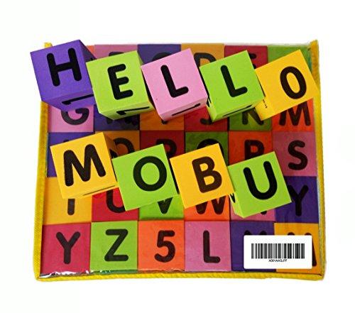MOBU Eva Foam Building Blocks 30 Pcs Soft Alphabet Blocks (ABC) Numbers Blocks (123) Animal Multi-colored Child's Cognitive Preschool Educational Toys by MOBU (Image #5)