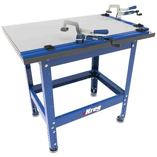 Kreg Clamping Table - Kreg KKS2100 Klamp Table and Steel Stand Combo with Automaxx