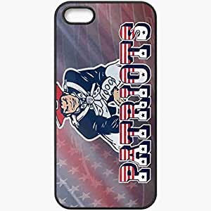 Personalized iPhone 5 5S Cell phone Case/Cover Skin 1109 new england patriots Black by lolosakes