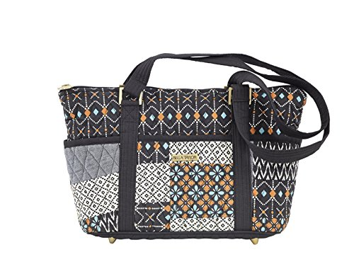 Allie Quilted Cotton Mini Shopper Tote Handbag (Quilted Shopper Tote compare prices)