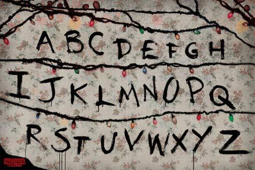 ShopForAllYou Posters & Prints Stranger Things - TV Show Poster (Alphabet/Run) (Size: 36
