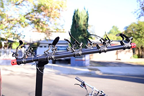 Allen Sports Deluxe 5-Bike Hitch Mount Rack with 2-Inch Receiver by Allen Sports (Image #4)