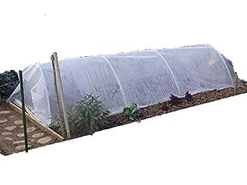 Tunnel Plastica Per Ortaggi.Acquaverde Copertura Orto Tunnel Da 0 10 Serra Mt 1 2 X 4 X 0 60 H