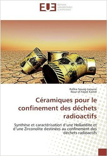Céramiques pour le confinement des déchets radioactifs: Synthèse et caractérisation d'une Hollandite et d'une Zirconolite destinées au confinement des déchets radioactifs
