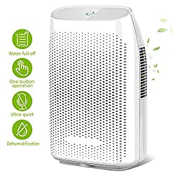Honati Home Dehumidifier Honati dehumidifier for home can quickly and effectively remove excess moisture from the air, improve your home's environment more comfort and health. This small dehumidifier is perfect for your basement, bathroom, bedroom, l...