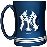 MLB New York Yankees 14-Ounce Sculpted Relief Mug