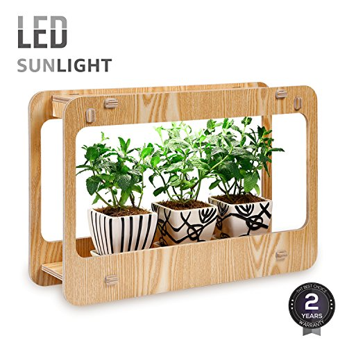 Grow Light Kitchen Herb Garden
