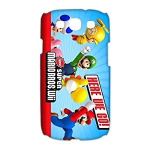 Custom Super Mario Bro Hard Back Cover Case for Samsung Galaxy S3 CL338