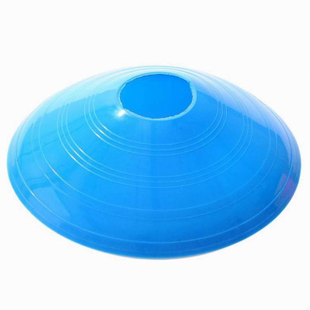 Alivier 50 Pezzi di Coni Marker Stand Calcio Coni con Calcio Titolare e Qualsiasi Gioco di Palla per segnare