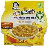 Gerber Graduates Breakfast Buddies - Peach Cereal, 4.5-Ounce (Pack of 8)