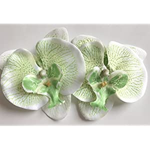 LYW Simulation Butterfly Orchid Head Artificial Flower For DIY Party Home Office Wedding Decoration 50pcs 116