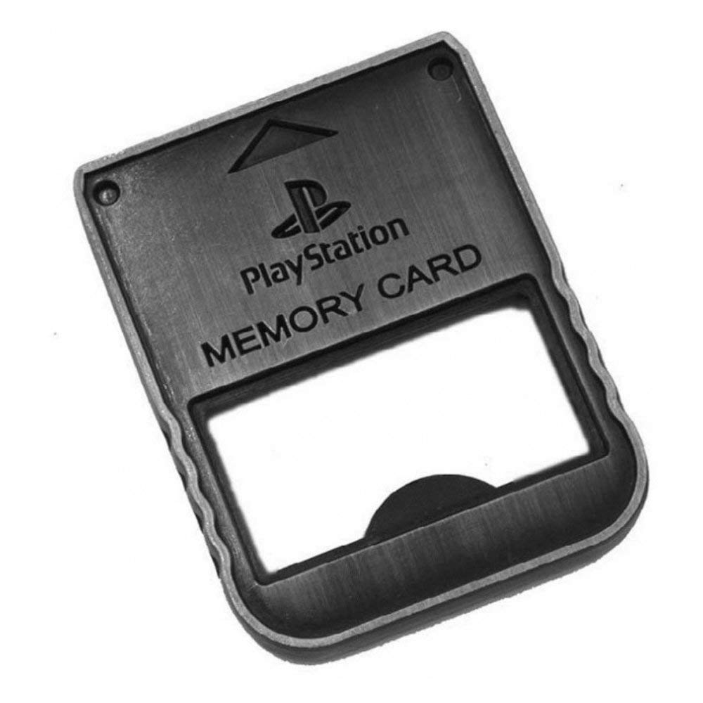 Playstation Official 1 PSX Memory Card Bottle Opener Numskull PGEEBPRUA84185
