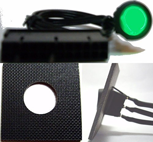 Green ATX 24-Pin PSU Power Supply Bridge Jumper On/Off Switch (Lighted) For 24/20 Pin PSU - Usps Shipping Estimate