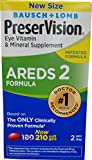 PreserVision AREDS 2 Eye Vitamin & Mineral Supplement with Lutein and Zeaxanthin, Soft Gels, 1 Pack (210 Count)
