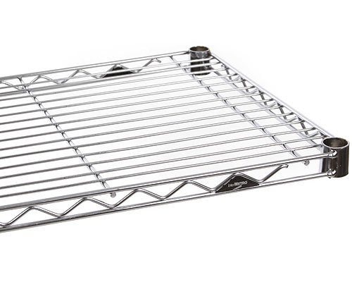 InterMETRO, Chrome 18 48-Inch Wire Shelf