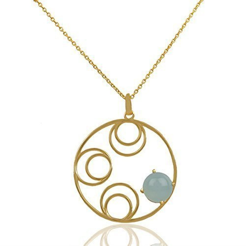 Nathis Aquacalchydony Necklace