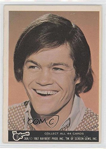 - Mickey Dolenz COMC REVIEWED Good to VG-EX (Trading Card) 1967 Donruss The Monkees Color Series A - [Base] #36A