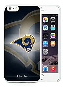 Beautiful Designed Case With St Louis Rams 16 White For iPhone 6 Plus 5.5 Inch TPU Phone Case