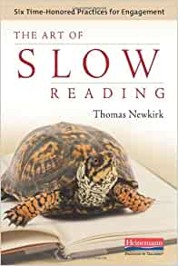 slow reading book