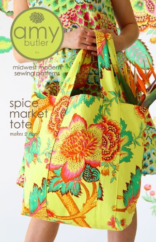 Amy Butler Spice Market Tote Bag Sewing Pattern by Amy Butler Ltd