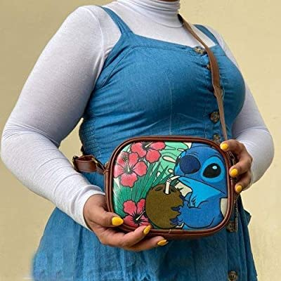 Lilo & Stitch-Stitch Coconut Cross Body Purse-Entertainment Earth Exclusive: Toys & Games