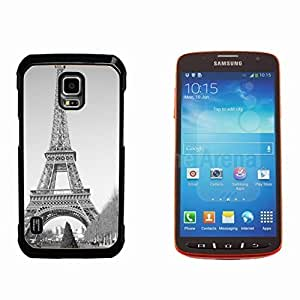 Paris Eiffel Tower Hard Plastic and Aluminum Back Case for Samsung GALAXY S5 Active G870