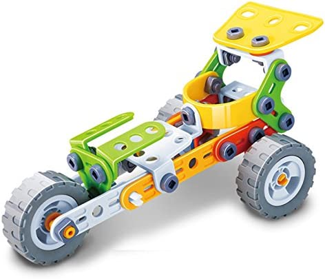 Buy GeekGoodies Build & Play Tri-Wheel Race Car (Rocket Car