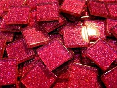 Tourmaline Glitter - Tourmaline Glitter Tiles by Mosaic Heaven