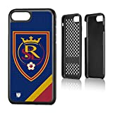 Keyscaper MLS Real Salt Lake Solid Rugged Case for iPhone 8 Plus/7 Plus, Black