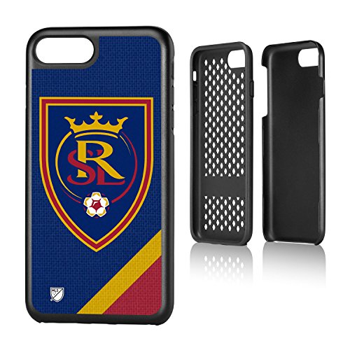 Keyscaper MLS Real Salt Lake Solid Rugged Case for iPhone 8 Plus/7 Plus, Black by Keyscaper