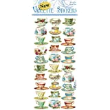 Violette Stickers French Teacups