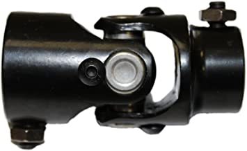 ROADFAR 3//4-30 Spline X 3//4 DD Steering Universal U-joints Black single Steering Shaft U Joint