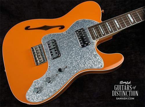 Fender 2018 Limited Edition Tele Thinline Super Deluxe/Orange エレキギター フェンダー (Parallel Universe)   B07984LK49