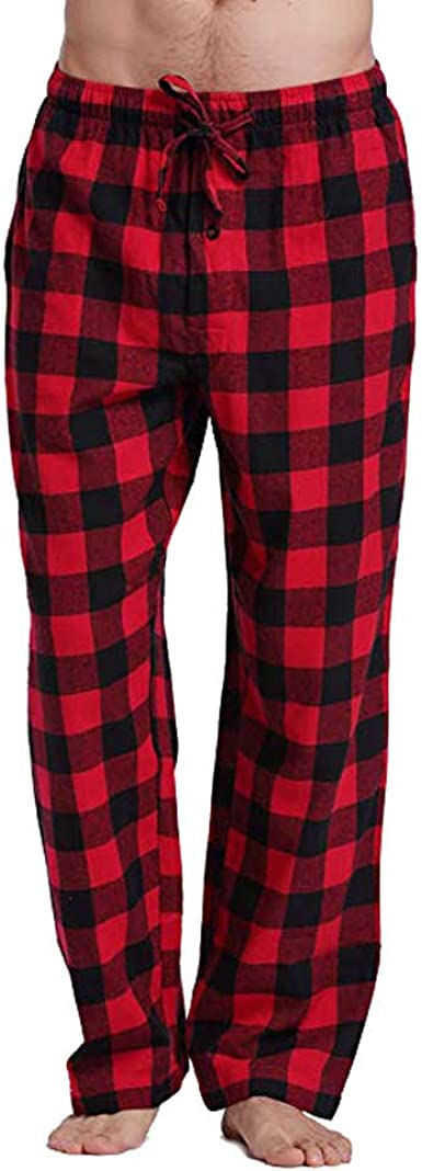 VPASS Pantalones para Hombre,Pantalones Moda Pantalones de Pijama Inicio Pop Casuales Hombres Jogging Pants Trend Largo Pantalones Diseño de ...