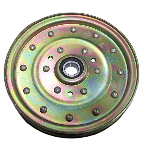 One (1) New Aftermarket Flat Idler Pulley Exmark Toro 52 60