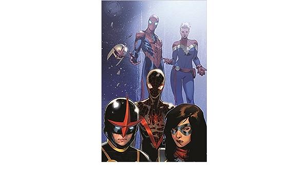 #8 VF//NM Civil War II Tie-In Miles Morales Spider-man 2016